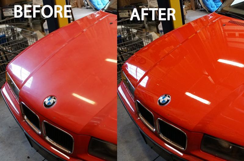 Εξασθένιση χρώματος αυτοκινήτου