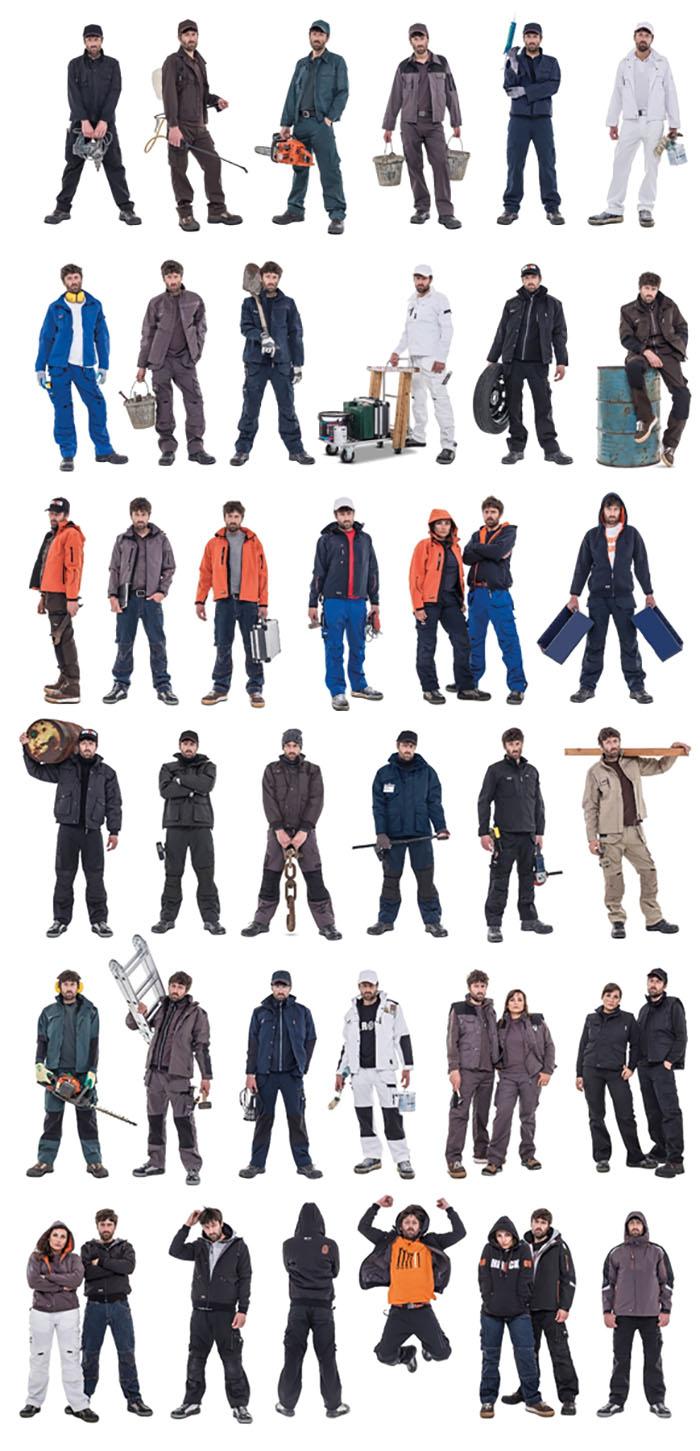 Ρούχα εργασίας για Επαγγελματίες