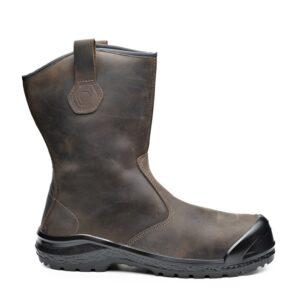 Δερμάτινες μπότες εργασίας BE EXTREME S3 CI SRC καφέ, BASE